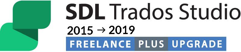 Upgrade from SDL Trados Studio 2015 Freelance Plus to SDL Trados Studio 2019 Freelance Plus